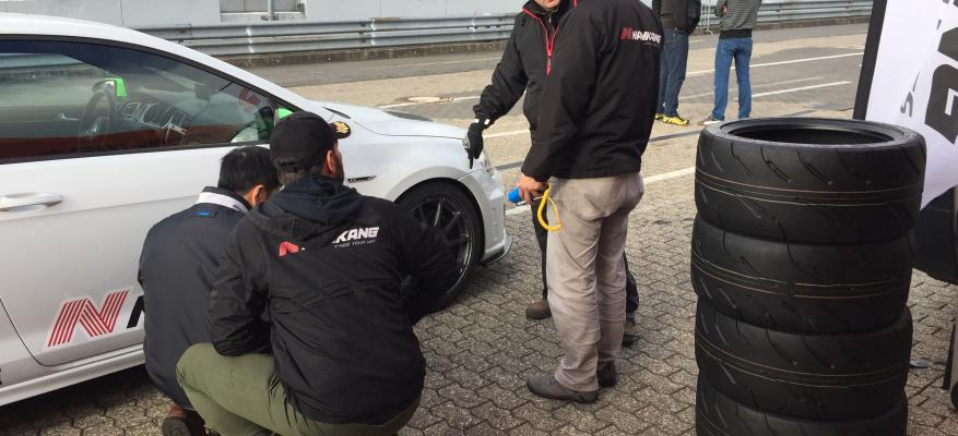 Nankang AR-1 testing at Nurburgring