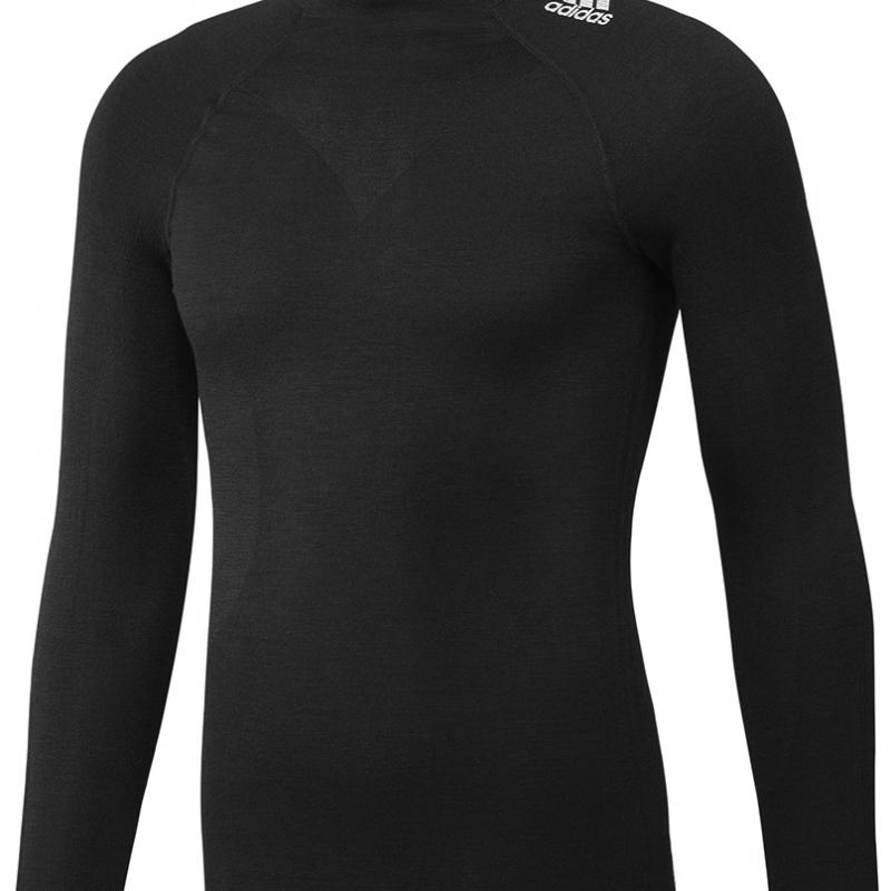 TECHFIT® LS TOP BLACK